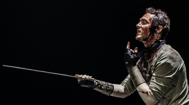 Tom Hiddleston and Mark Gatiss Go Down A Dark Path In Shakespeare's Coriolanus
