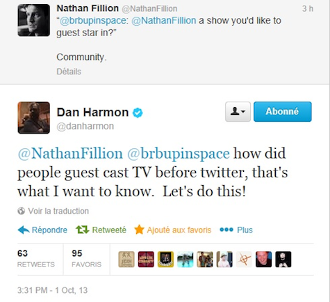 Nathan Fillion Teases That His Guest Role On Community Is A Little