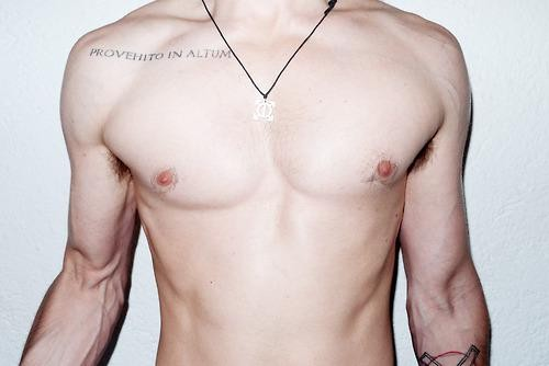Jared Leto Strips Down For Photoshoot With Terry Richardson