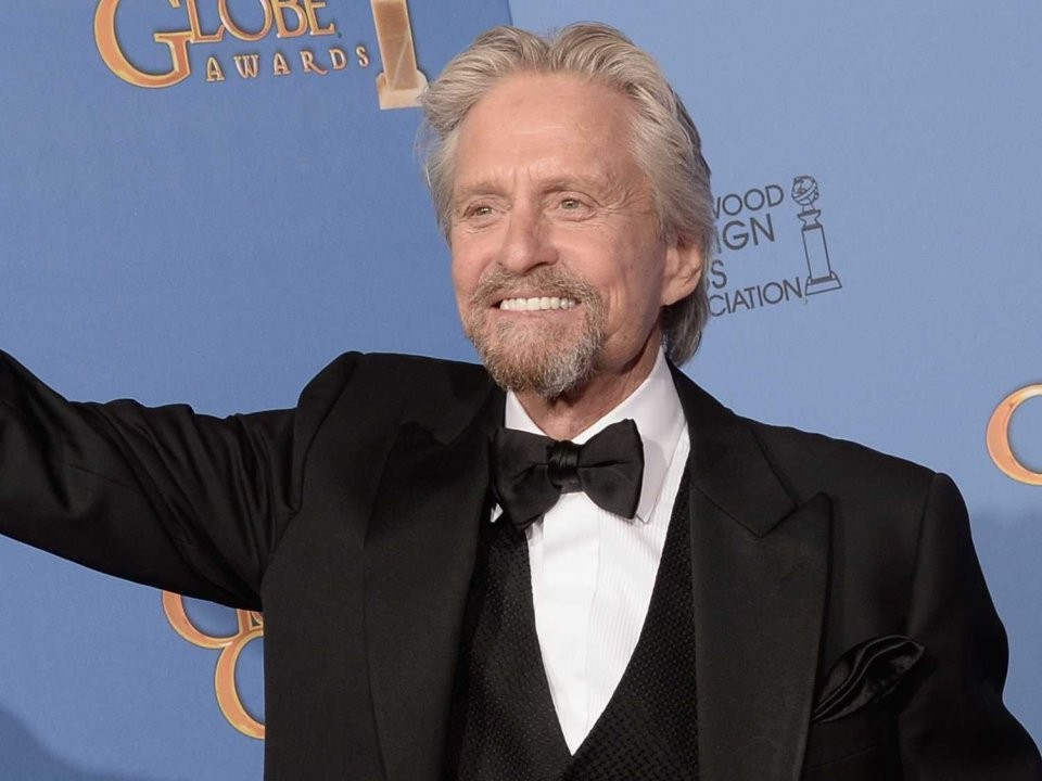 Michael Douglas Accepts UNICEF Peace Award