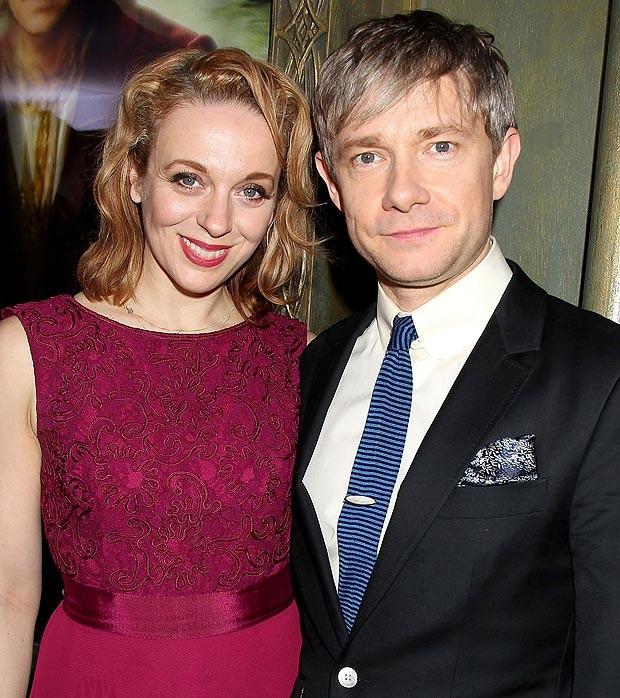 Martin Freeman Found Filming With Real-Life Partner Amanda Abbington