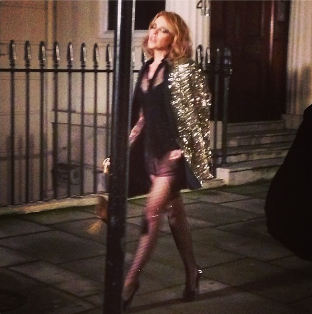 Kylie Minogue Steps Back Into The Spotlight With