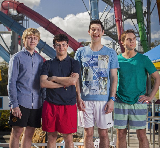 The Cast Of The Inbetweeners Say G'Bye To Australia As Filming Wraps On Their Second Film