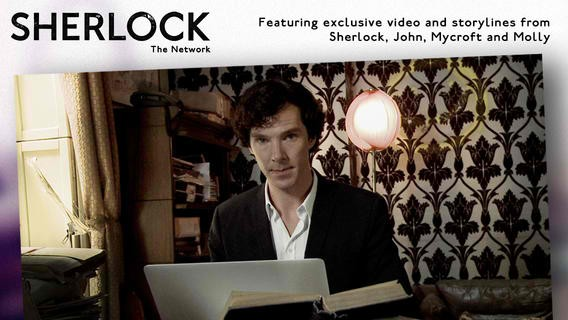 The Game Is On: Trailer For Sherlock App Released #jointhenetwork