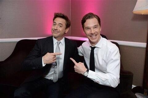 Sherlocks Unite! Benedict Cumberbatch And Robert Downey Jr. Compare Notes On Playing The Devilish Detective