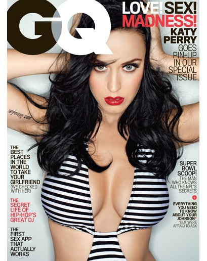 Katy Perry Talks Weed, Boobs And More In GQ Cover Story
