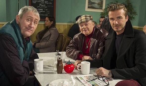 David Beckham To Join Forces With Only Fools And Horses For Sport Relief