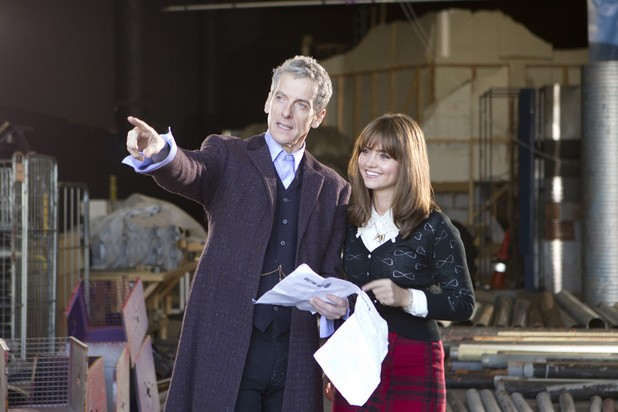 Peter Capaldi Gets Seal Of Approval From Current Doctor's Companion, Jenna Coleman