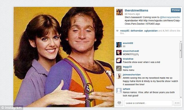 Nanu Nanu .... Mork And Mindy Reunite On The Crazy Ones
