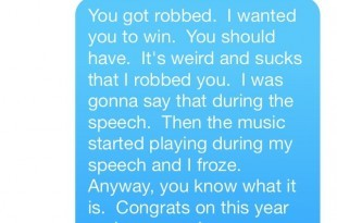 Macklemore Proves He's Classy With Apologetic Text To Kendrick Lamar Following Grammy Loss