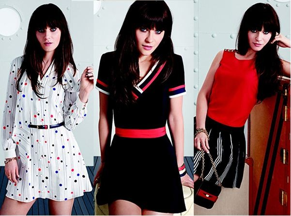 Zooey Deschanel Designs Quirky Dress Collection For Tommy Hilfiger