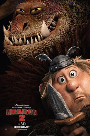 Two New Character Posters Unveiled For How To Train Your Dragon 2