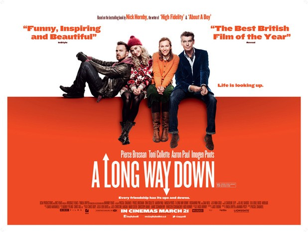 It's A Long Way Down For Four Strangers In First Trailer For New Nick Hornby Movie