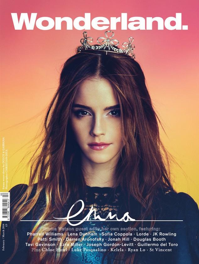 Emma In Wonderland: Emma Watson Wows On Next Month's Wonderland Magazine Cover