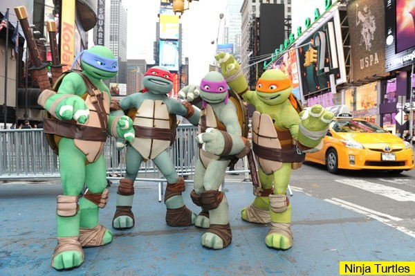 The Teenage Mutant Ninja Turtles Get A Muscly Makeover For Upcoming Film