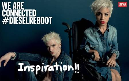 Diesel Reboots The Definition Of The Perfect Model