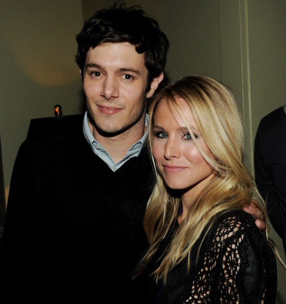 Adam Brody Dishes On Filming Sex Scenes With Kristen Bell's Baby Bump