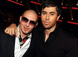 Enrique Iglesias And Pitbull Join Up For Freaky Collaboration