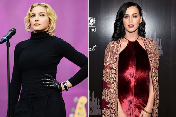 Katy Perry And Madonna Team Up To Condemn Russian LGBT Policies