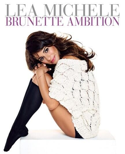 Lea Michele Reveals Cover For New Book Brunette Ambition