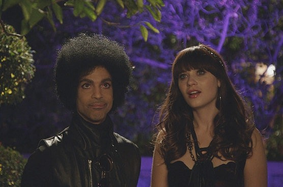 Quality Time With Music Royalty As The Cast Of New Girl Meets Prince