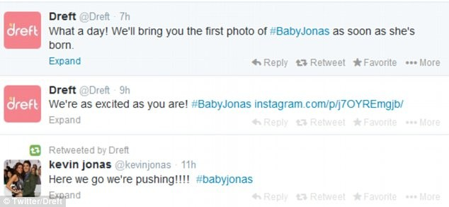 Kevin Jonas Takes To Instagram With Birth Of First Child