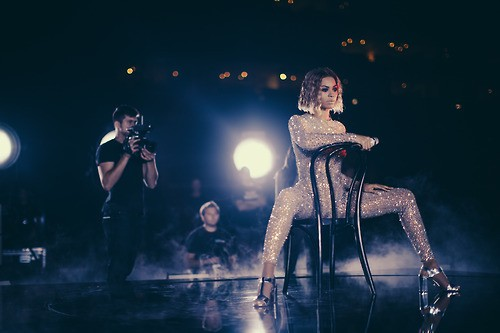 Beyonce Unveils Behind-The-Scenes Photos Of Pre-Grammys Rehearsal