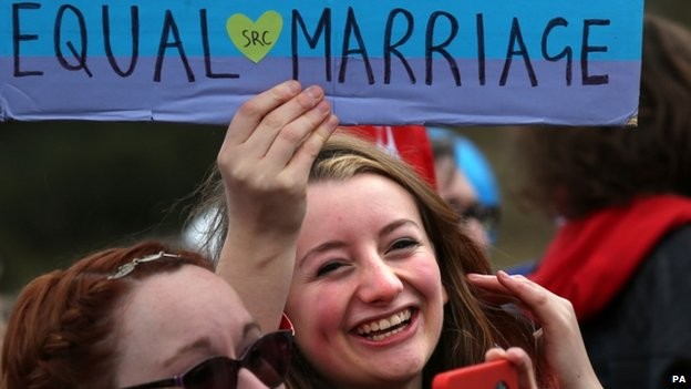 It's All About Love As Scotland Passes Marriage Equality Bill