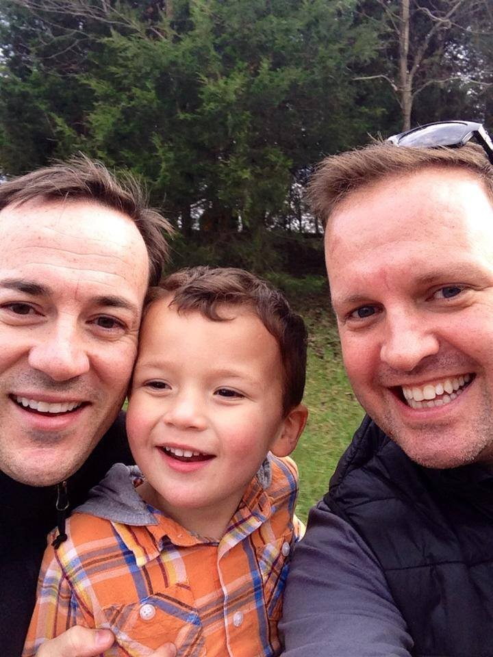 Gay Couple Who Found Their First Son Via Facebook Celebrates Its Anniversary