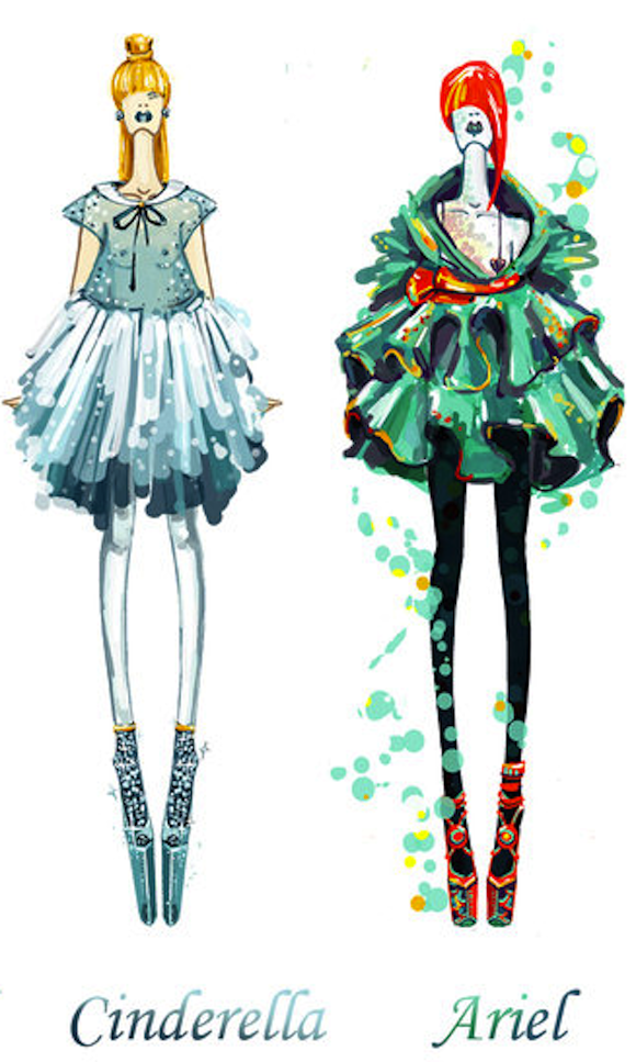 Design Student Gives Our Favorite Disney Princesses A High Fashion Makeover