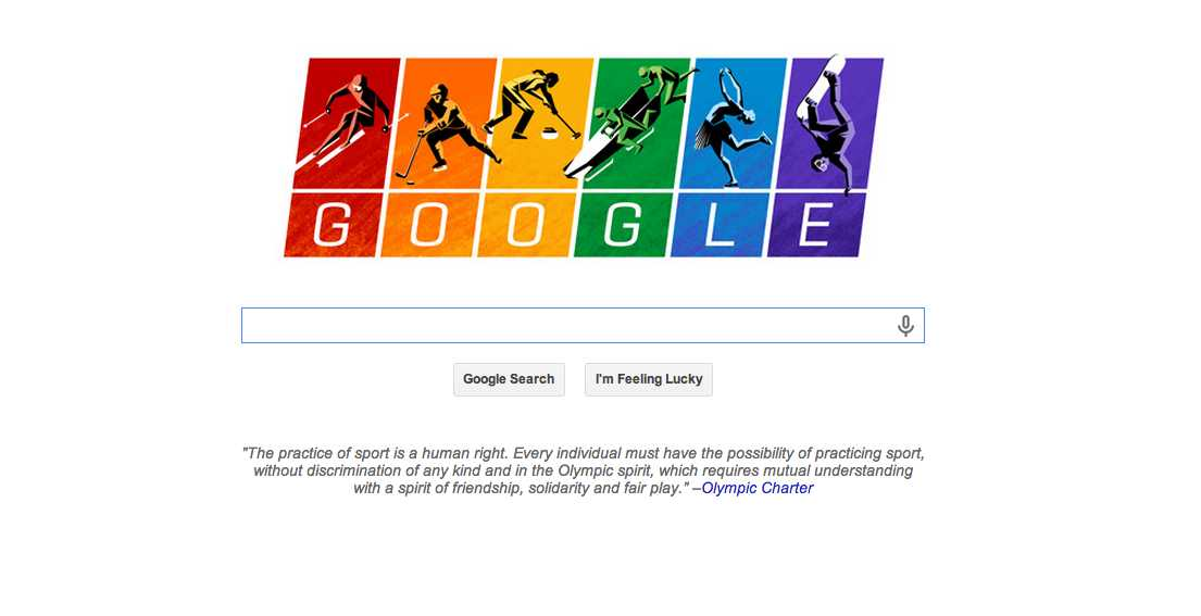 Google Joins The World in Protesting Russia's Anti-LGBT Laws