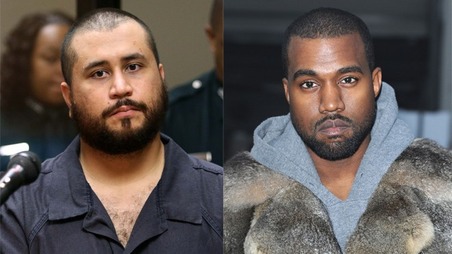 George Zimmerman Has His Sights Set On Kanye West