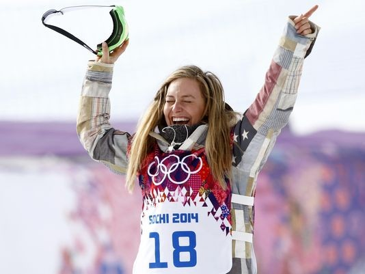Jamie Anderson Snags Second Gold For Team USA In Snowboarding