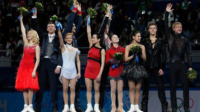 Team Figure Skating Gold Proves Russia's Still A Powerhouse
