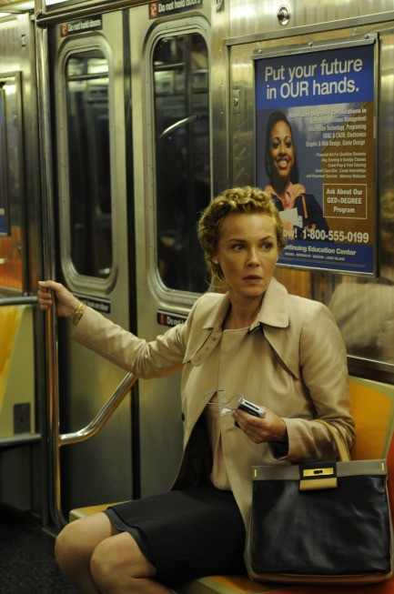 Change Of Face: Connie Nielsen's Character On 'The Following' Has No Love For Kevin Bacon