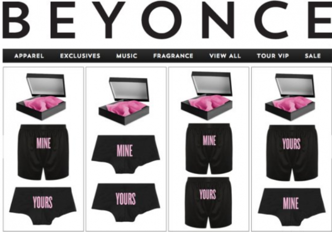 Beyonce Wants To Help Us Spice Up Our Valentine's Day
