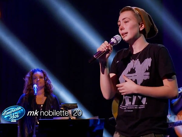 MK Nobilette Comes Out To The American Idol Judges As First Openly Gay Contestant