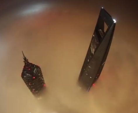 Russian Climbers Scale The 650 Meter Shanghai Tower Sans Equipment