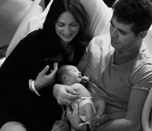 Simon Cowell Gushes Over His New Baby Boy