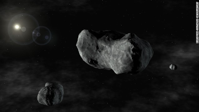 Close Encounters: Giant Asteroid Flies By The Earth