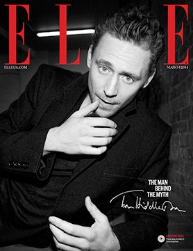 Tom Hiddleston Crowned Elle's Man Of The Year