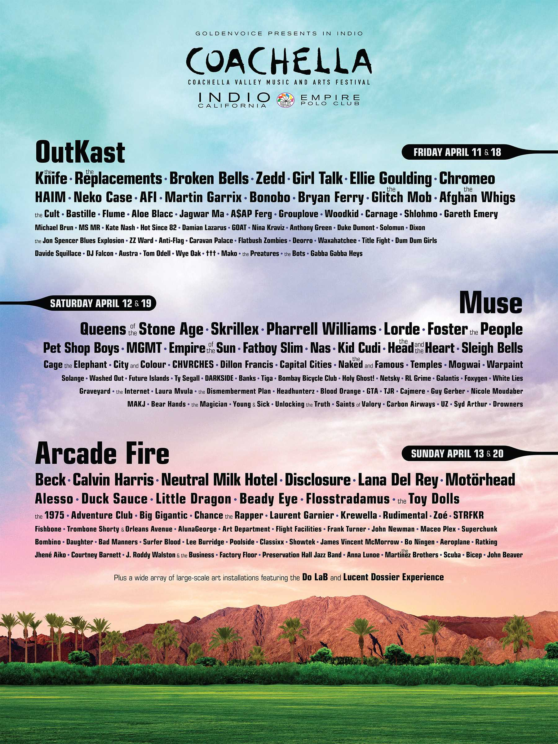 It's Time To Plan Your Pilgrimage To The California Desert For Coachella 2014
