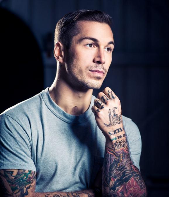 Model Marine: Alex Minsky Recruited As The Face Of Jack Adams Underwear