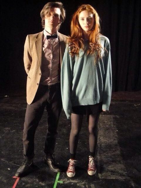 First Ever Image Of The 11th Doctor And Amy Pond Hits The Internet
