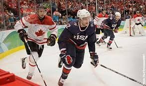 The USA-Canada Men's Olympic Hockey Semi-Final The Most-Watched On BOTH Sides Of The Border