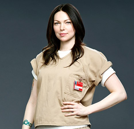 Laura Prepon Is Back In Orange For