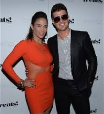 Robin Thicke And Wife Paula Patton Have