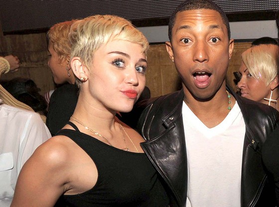 Miley Cyrus And Pharrell Make Musical Magic Once More With