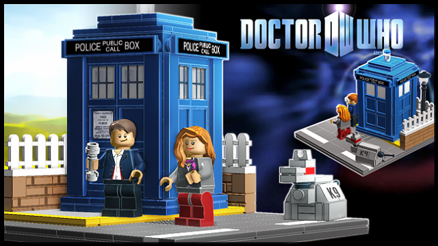 Get Ready Whovians: Doctor Who Set To Appear In Lego Form