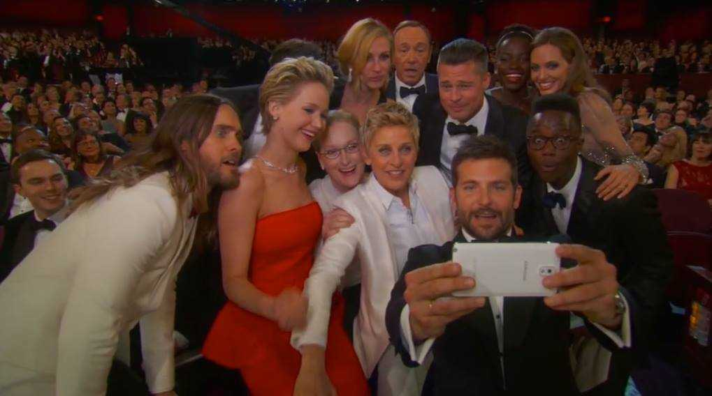 Ellen Degeneres Broke Twitter With The World's Most Epic Selfie